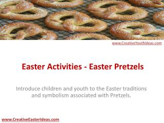 Easter Activities - Easter Pretzels