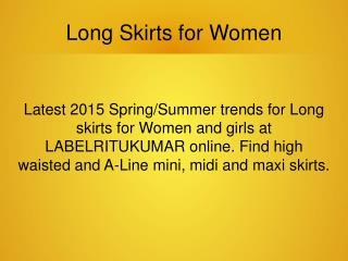 Long Skirts for Women