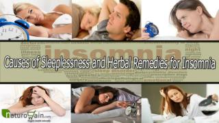 Causes of Sleeplessness and Herbal Remedies for Insomnia