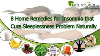 Home Remedies for Insomnia that Cure Sleeplessness Problem N