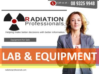 Radiation professionals - Radiation tools for sale