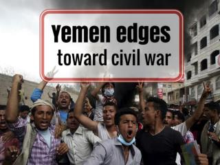 Yemen edges toward civil war