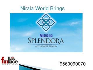 Nirala Splendora 2/3 bhk Apartments Noida Extension  Call @
