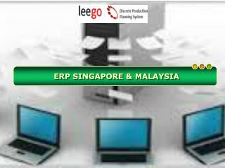 Advantages of ERP Singapore for Production Planning