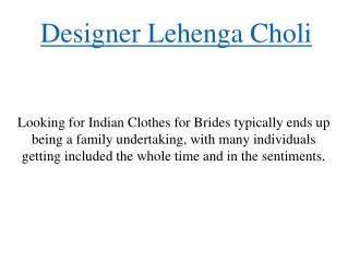 Designer Lehenga Choli