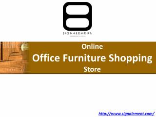 Online furniture shopping