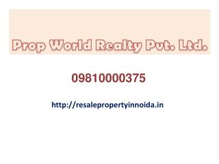 Resale Property In Noida For Sale