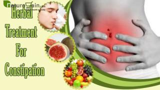 Best Herbal Treatment For Constipation Problem