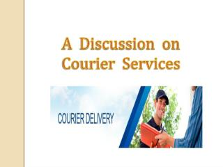 Presentation on Courier Service by RANDlogistics.com