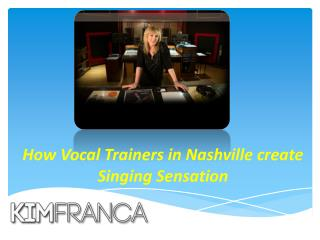 Vocal Trainers in Nashville
