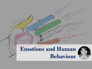 Emotions and Human Behavior