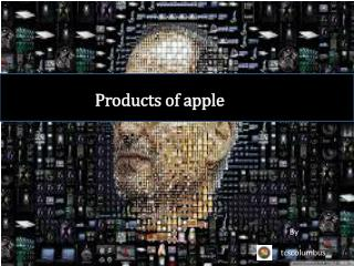 Products of apple
