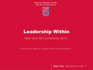Leadership Within, NFHS (2015)