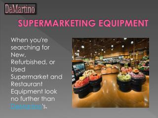 DeMartino Fixtures Restaurant Equipment