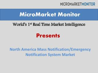 North America Mass Notification market
