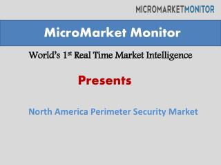 North American perimeter security market