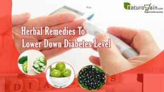 Herbal Remedies To Lower Down Diabetes Level In Healthy Way