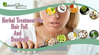 Herbal Treatment For Hair Fall And Dandruff Problem