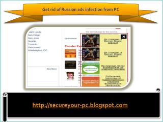 How To Remove Russian ads