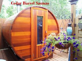 Cedar Barrel Saunas