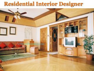 Residential interior designer in pune
