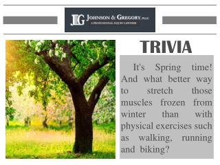 Arizona Personal Injury Lawyers Trivia - Johnson & Gregory L