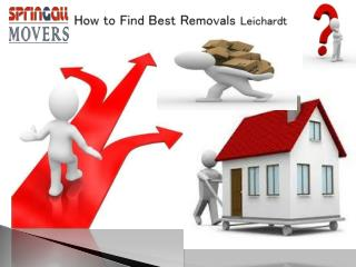 How to Find Best Removals Leichardt