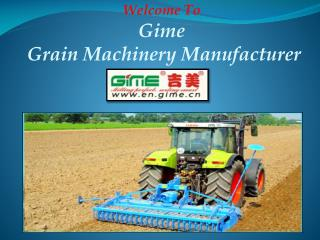 World Leading Agricultural Machinery Manufacturer