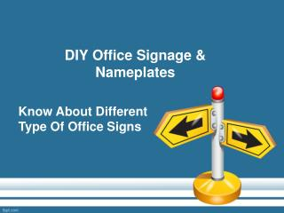 Different Types Of Office Signage