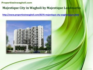 Book Flats in Majestique City in Wagholi