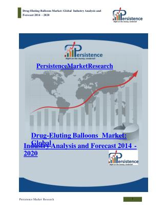 Drug-Eluting Balloons Market - Global Industry Analysis 2020
