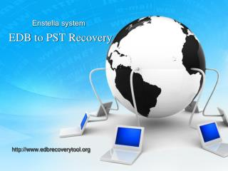 EDB to PST Recovery