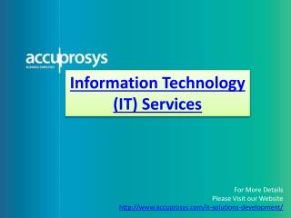 IT Services - Accuprosys