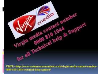 Virgin media email helpline number 0800-810-1044