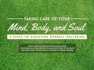 Taking Care of Your Mind, Body, and Soul