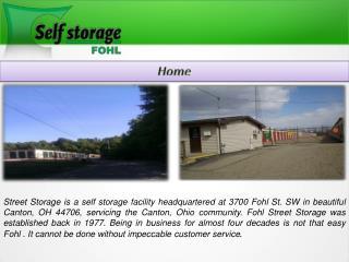 Self Storage Canton,Ohio-Fohl