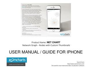 Network Graph - Nodes With Custom Thumbnails for iPhones