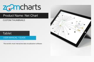 Network Graph - Nodes With Custom Thumbnails for Tablets