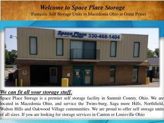 Fantastic Self Storage Units in Macedonia Ohio