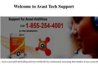 Support for Avast Antivirus by Avast Tech Support
