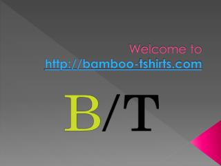 Bamboo T-Shirts for Women, Best Bamboo Womens Clothing