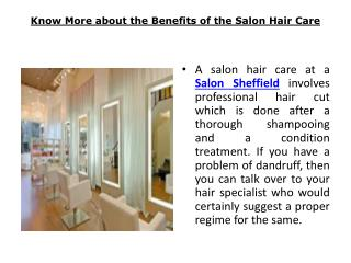 Salon Sheffield