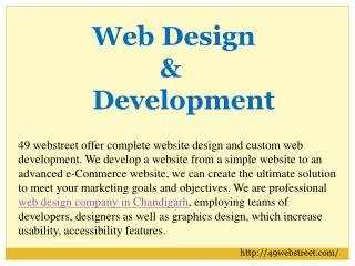 Web Development in Chandigarh