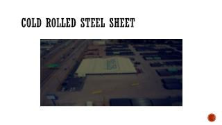 Cold Rolled Steel Sheet | Cold Formed Sheet Pile