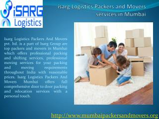 Mumbai packers and movers