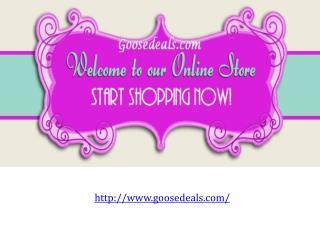 Online Store - Goosedeals.com