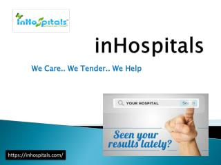 inHospitals-Search hospitals in Pune