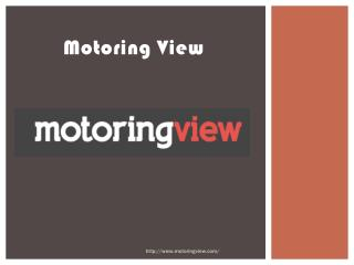 Car News - www.motoringview.com
