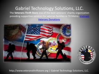 Disabled veterans services charity