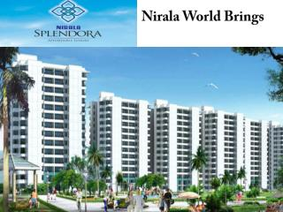 Nirala Splendora Homes Noida Extension  Call @   91-95600900